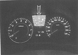 Щиток приборов Hyundai Solaris